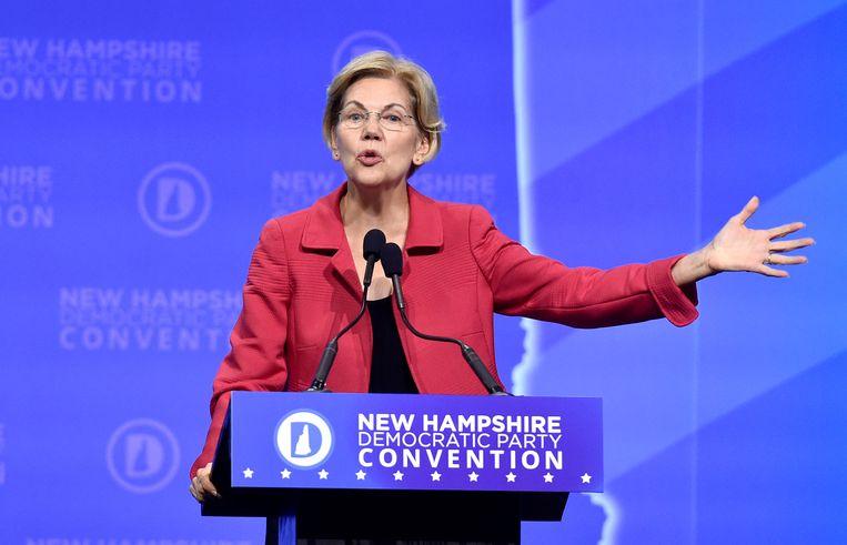 Senator Elizabeth Warren. Beeld REUTERS