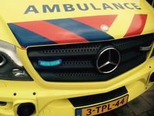 Traumahelikopter op de Oudeweg in Nootdorp