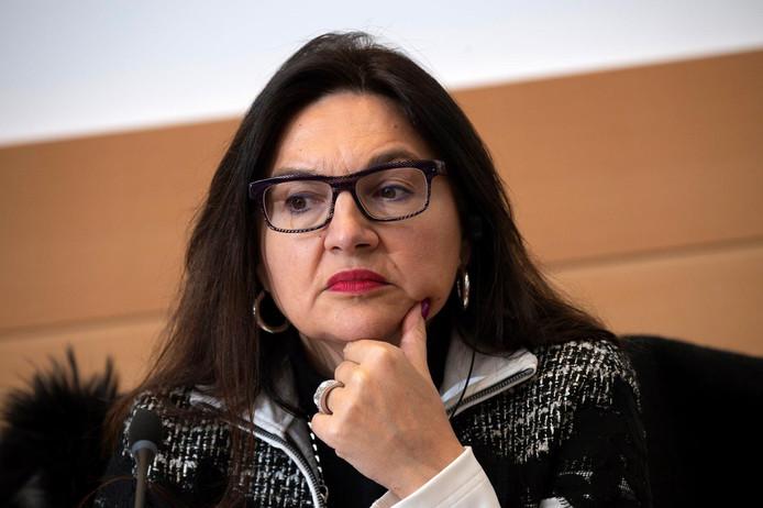 La ministre fédérale du Climat Marie-Christine Marghem.
