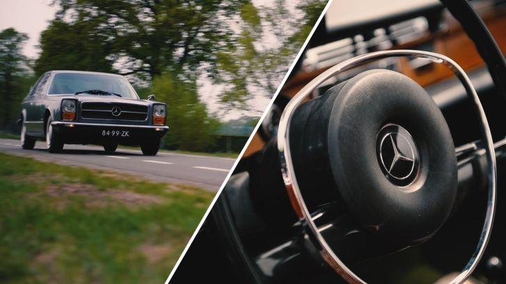 Van deze Mercedes Pininfarina is er maar een op de wereld
