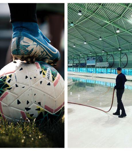 Amateurvoetbal-fenomeen langs zijlijn in Delden & 'vers' ijs voor schaatsers in Twente