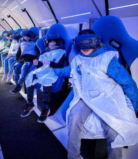 Even naar de maan en terug: leerlingen van basisschool beleven met SpaceBuzz een ruimtereis