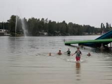 De Reddingsklos aan de slag op Prinsenmeer in Ommel