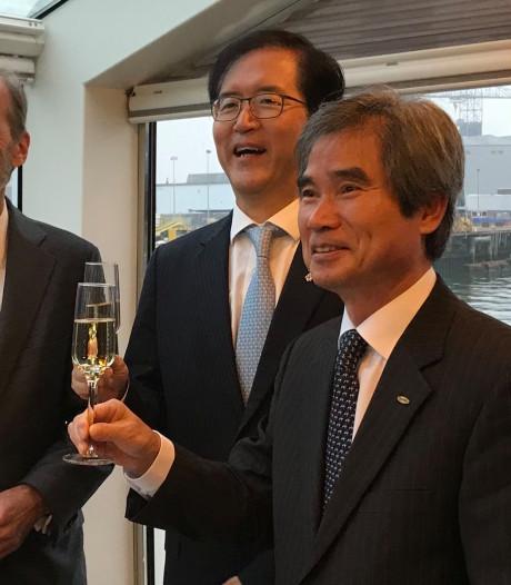 Koreanen reserveren haventerrein in Rotterdam