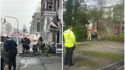 Uitslaande brand in kledingzaak Brasschaat