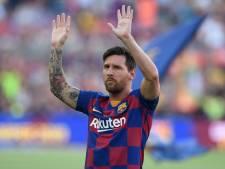 Messi als ambassadeur in Barcelona-shirt bij grootste concurrent van voetbalgame FIFA 21