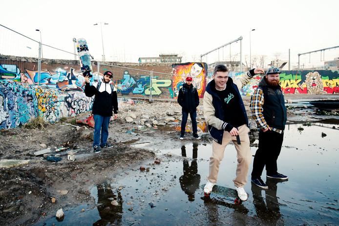 Het Kruisvaartterrein, beter bekend onder skaters als De Yard.
