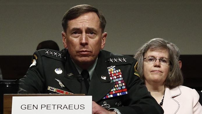 Le général Petraeus, avec son épouse (archive).