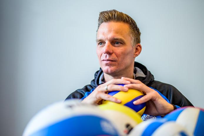 Johan van Vliet, de nieuwe trainer van Voltena: ,,Utrecht is de absolute favoriet in de topdivisie.''