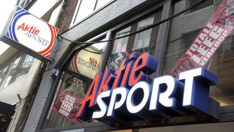 Exterieur van een vestiging van Actie Sport. Beeld Dijkstra bv.