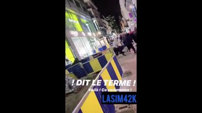 Tiental jongeren plundert winkel JD Sports, mogelijk link met incident racisme in Luik