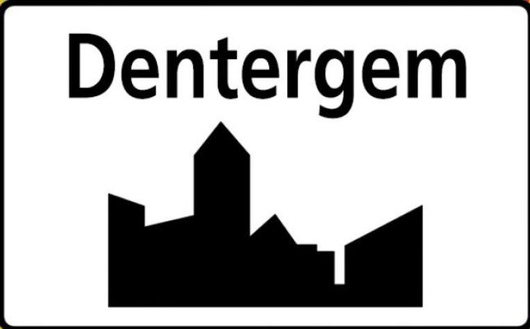 Gemeentebord Dentergem