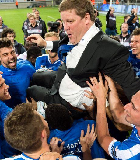 Hein Vanhaezebrouck est le nouveau coach de La Gantoise