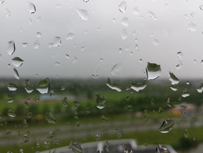Regenachtig en koud weer.