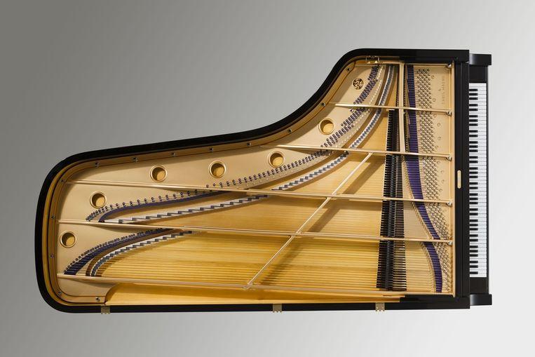 De nieuwe Barenboim-vleugel, die het beste van fortepiano en concertvleugel combineert. Beeld