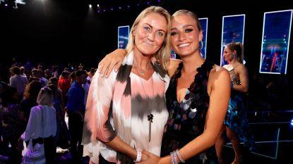 """Eva Pauwels supportert voor dochter Julie in 'Dancing With The Stars': """"Zo trots"""""""