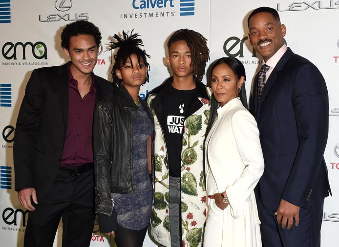 La famille Smith au complet, en 2016.