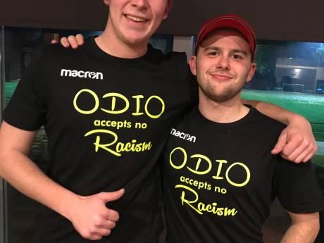 ODIO maakt statement met speciale shirts: 'ODIO accepteert geen racisme'