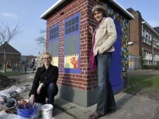 Onthulling eerste beschilderde schakelkast in Oldenzaal