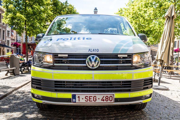 De Antwerpse politie.