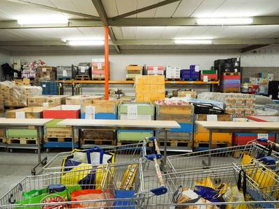 Voedselbank Breda pikt bezuiniging niet