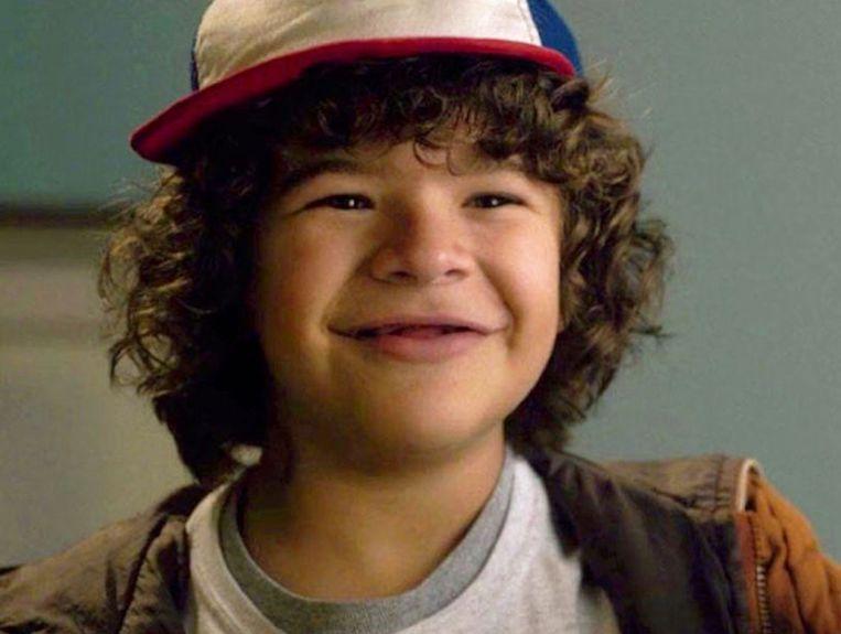 Gaten Matarazzo in het eerste seizoen van 'Stranger Things'.