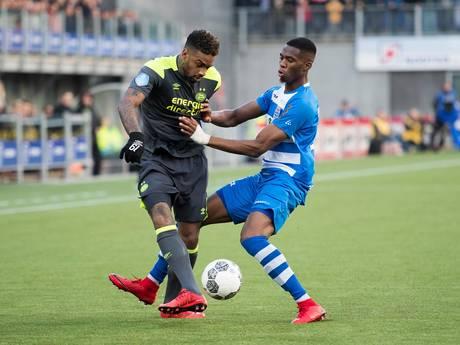 LIVE: PSV zet aan, inzet De Jong van de lijn gehaald