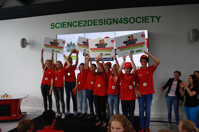 De winnende RED engineers nemen het in het najaar op televisie op tegen teams uit andere delen van het land