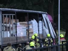 Vreemde lucht uit vrachtwagen die al een week in Wekerom staat, vermoedelijk door drugs