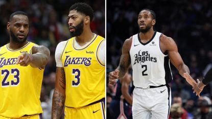 Lakers versus Clippers op kerstdag: een analyse van de twee stadsrivalen in de NBA