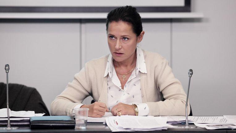 Sidse Babett Knudsen als Irène Frachon, die het Mediator-schandaal aan het licht bracht. Beeld null