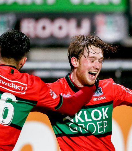 NEC stunt in verlenging tegen Fortuna en plaatst zich voor kwartfinale KNVB-beker