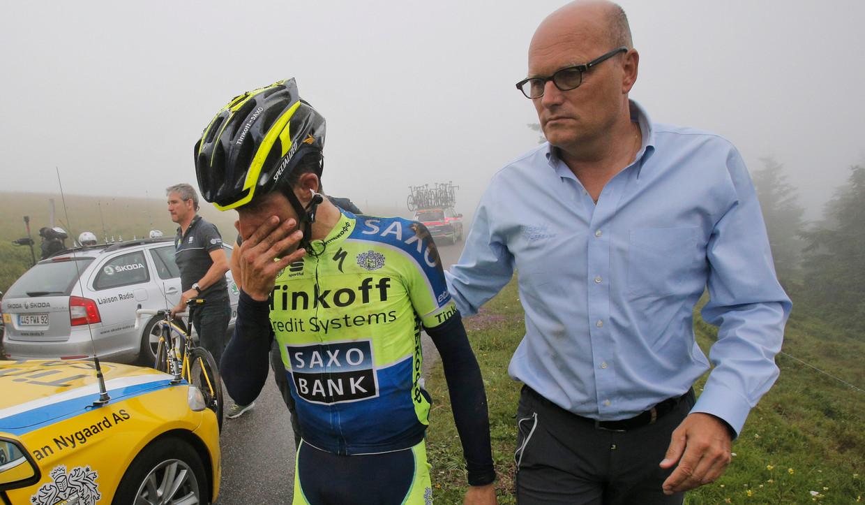Contador beklimt Kilimanjaro   NOS