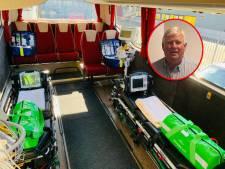 Menno (66) uit Dronten vervoert Brabantse coronapatiënten naar andere ziekenhuizen: 'Had al arbeidstijdverkorting aangevraagd'