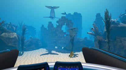 """VIDEO: Virtual reality doet kinderen in Zeepreventorium even hun pijn vergeten: """"Zo mooi! Ik zie alleen maar water en zeesterren"""""""