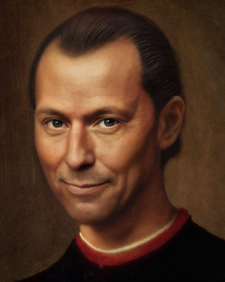 Niccolò Machiavelli. Beeld Bas Uterwijk