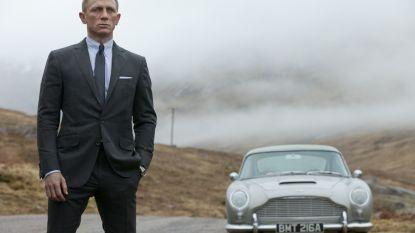 Aston Martin rijdt naar de beurs