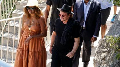 Obama's op vakantie met Bono