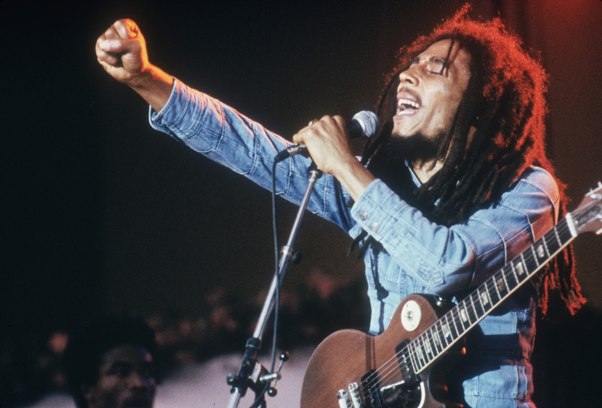 Bob Marley Beeld Getty Images