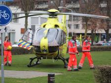 Vrouw valt van trap in woning Best en raakt gewond, traumahelikopter opgeroepen