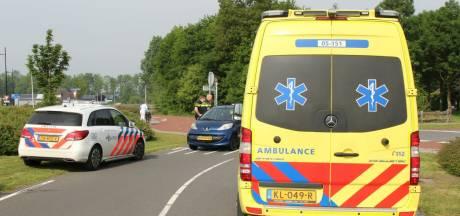 Mountainbiker gewond na aanrijding in Rijssen