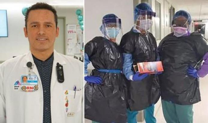 Kious Kelly (48 ans) a succombé au coronavirus mardi. Selon ses collègues, sa mort est la conséquence du manque d'équipements de protection.