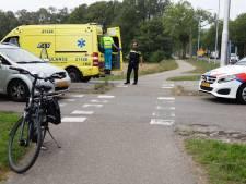 Fietser gewond na aanrijding op de N321
