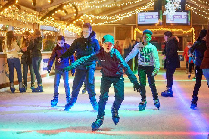 De vorige editie van Winterland Oss , een van de laatste dagen dit jaar februari.