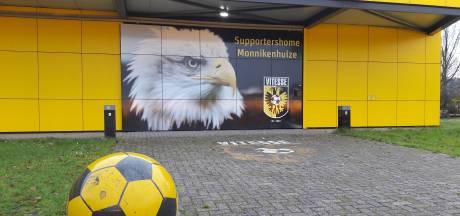 Coronateststraat voor zorgpersoneel uit regio in supportershome Vitesse