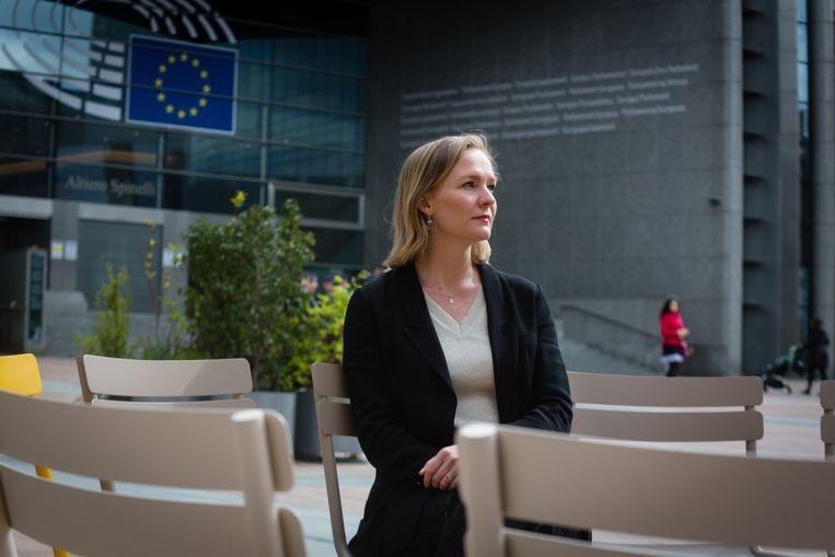 Marietje Schaake: 'Er is nog veel te verbeteren, maar dan kun je beter met een plan aan tafel zitten dan met een sloophamer klaarstaan'. Beeld Sander de Wilde
