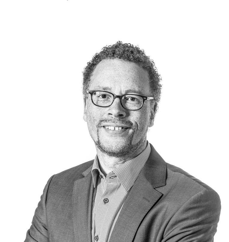 Dennis Boutkan, PvdA-woordvoerder Stad in Balans en Project 1012 Beeld Rink Hof