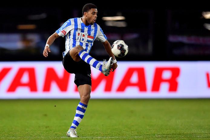 Rodney Klooster in actie voor FC Eindhoven