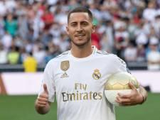 Voici le numéro qu'Eden Hazard devrait porter au Real