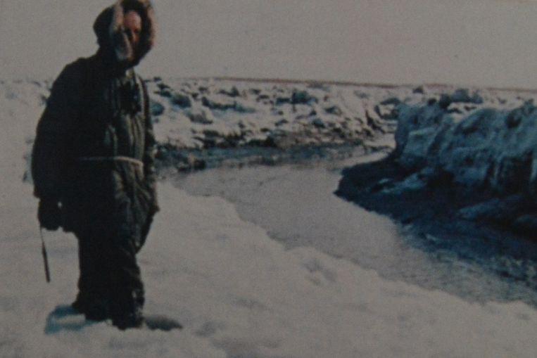 Dit is niet de Noordpool, maar wel De Noord in het Verdronken Land van Saeftinghe tijdens een strenge winter.